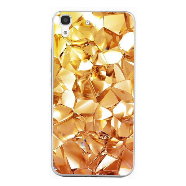 Husă Geometric Gold Diamond HUAWEI Y6 Ii Guardo.shop