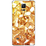 Husă Geometric Gold Diamond SAMSUNG Galaxy Note 4 Guardo.shop