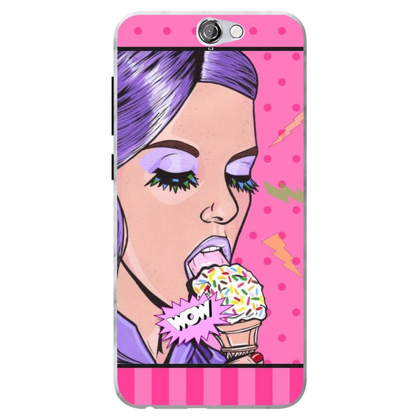Husă Girl Ice Cream HTC One A9 Guardo.shop