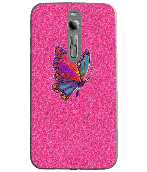 Husă Glitter Butterfly ASUS Zenfone 2 Ze551ml Guardo.shop