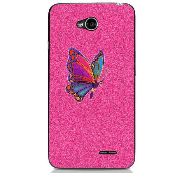 Husă Glitter Butterfly LG L70 Guardo.shop
