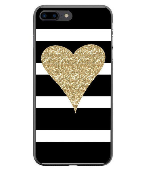 Husă Glitter Heart APPLE Iphone 7 Plus Guardo.shop