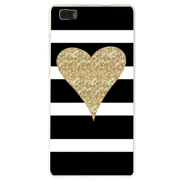 Husă Glitter Heart HUAWEI P8 Lite Guardo.shop