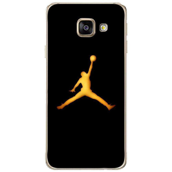 Husă Golden Jordan Logo SAMSUNG Galaxy A3 2016 Guardo.shop