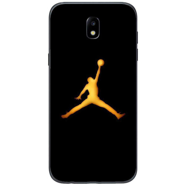 Husă Golden Jordan Logo SAMSUNG Galaxy J5 2017-Guardo.shop-Guardo.shop