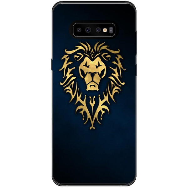 Husa Golden Lion Samsung Galaxy S10 Plus Guardo.shop