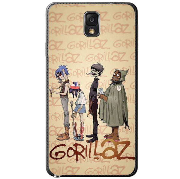 Husă Gorillaz Band SAMSUNG Galaxy Note 3 Guardo.shop