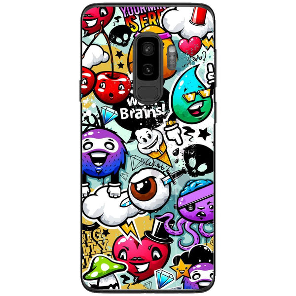 Husa graffiti Samsung Galaxy S9 PLUS Guardo.shop