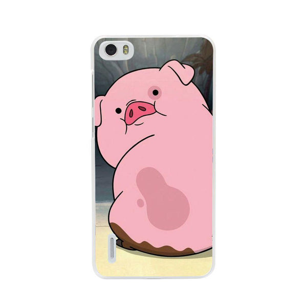 Husă Gravity Falls-pig HUAWEI G7 Guardo.shop