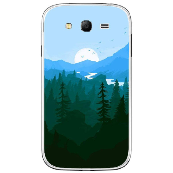 Husă Green And Blue Morning SAMSUNG Galaxy Grand Guardo.shop
