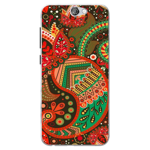 Husă Green Atumn Paisley Pattern HTC One A9 Guardo.shop