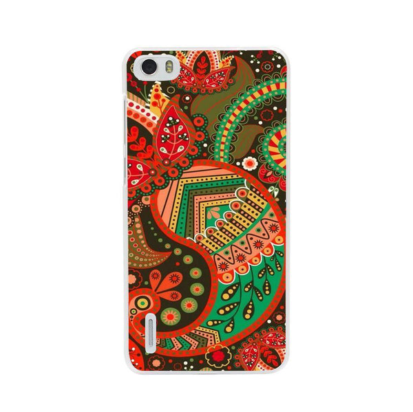 Husă Green Atumn Paisley Pattern HUAWEI G7 Guardo.shop