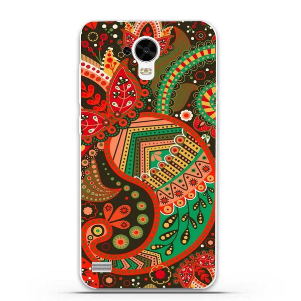 Husă Green Atumn Paisley Pattern HUAWEI Y5 Y560 Guardo.shop