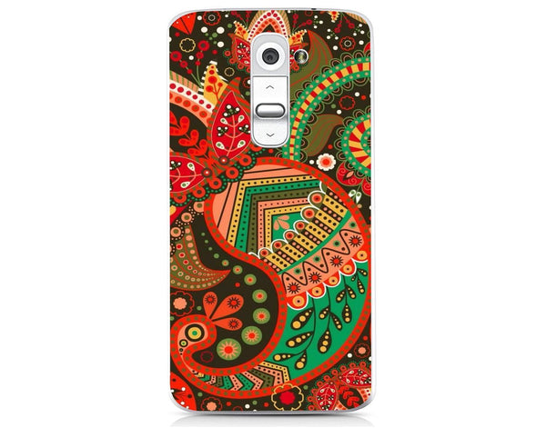 Husă Green Atumn Paisley Pattern LG G2 Mini Guardo.shop