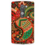 Husă Green Atumn Paisley Pattern LG Leon Guardo.shop