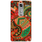 Husă Green Atumn Paisley Pattern LG Zero Class Guardo.shop