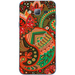 Husă Green Atumn Paisley Pattern SAMSUNG Galaxy J3 Guardo.shop