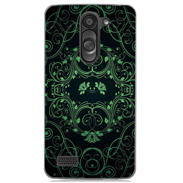 Husă Green Pattern LG L Bello Guardo.shop