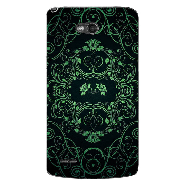 Husă Green Pattern LG L80 Guardo.shop
