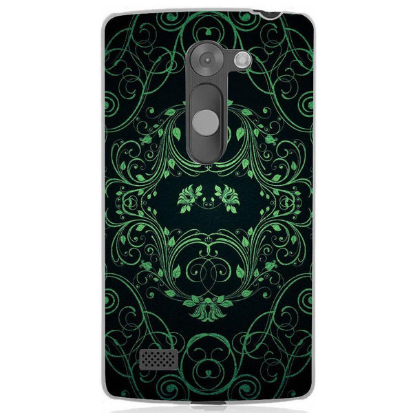 Husă Green Pattern LG Leon Guardo.shop