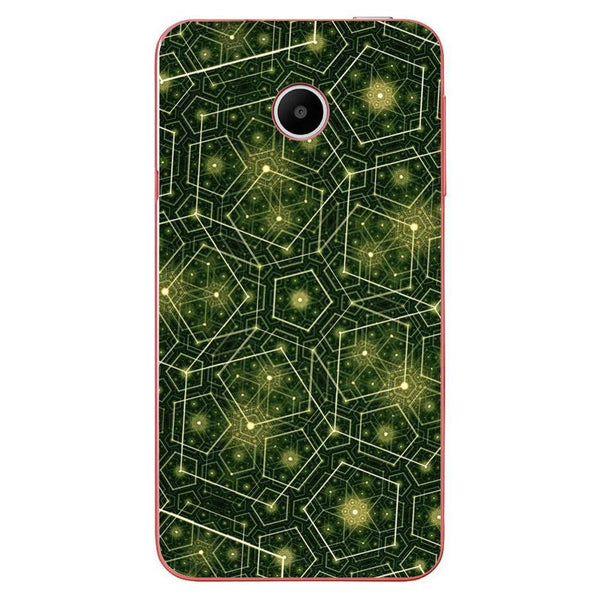 Husă Green Pattern Natural HUAWEI Y330 Guardo.shop