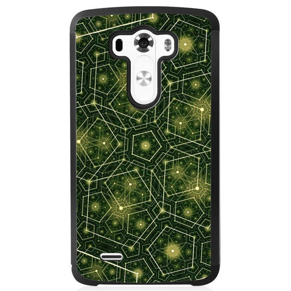 Husă Green Pattern Natural LG G3 Mini Guardo.shop