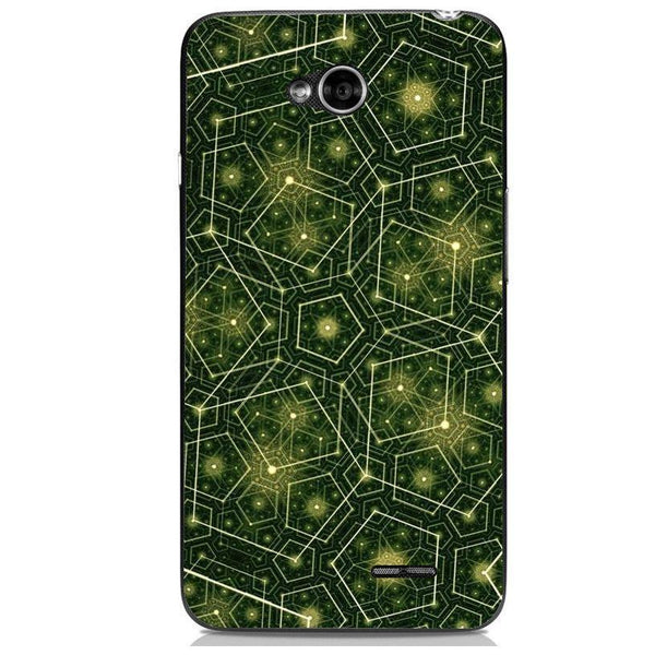Husă Green Pattern Natural LG L70 Guardo.shop