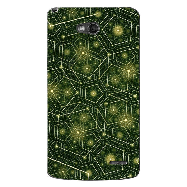 Husă Green Pattern Natural LG L90 Guardo.shop