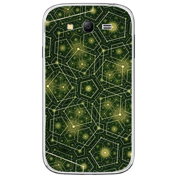Husă Green Pattern Natural SAMSUNG Galaxy Grand