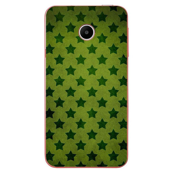 Husă Green Stars Pattern HUAWEI Y330 Guardo.shop