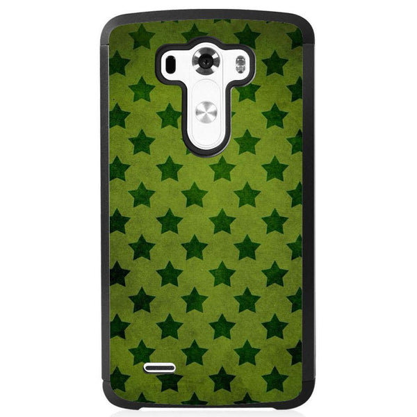 Husă Green Stars Pattern LG G3 S Guardo.shop