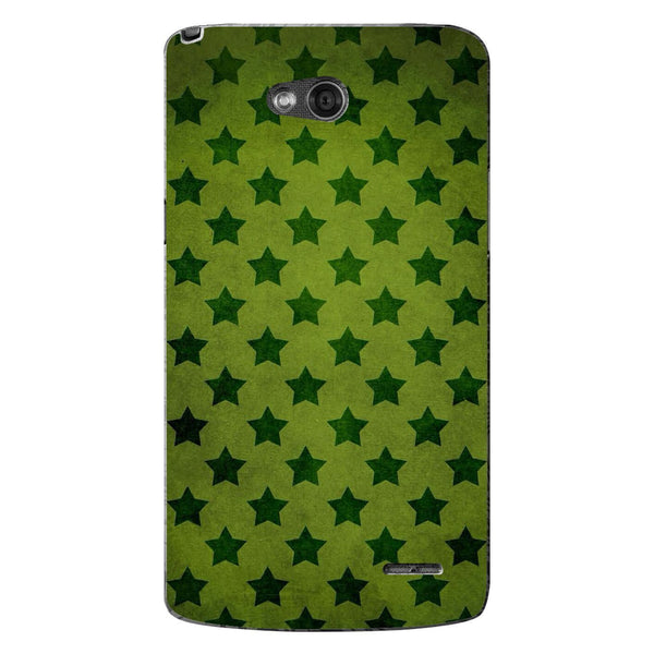 Husă Green Stars Pattern LG L90 Guardo.shop