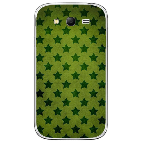 Husă Green Stars Pattern SAMSUNG Galaxy Grand Guardo.shop
