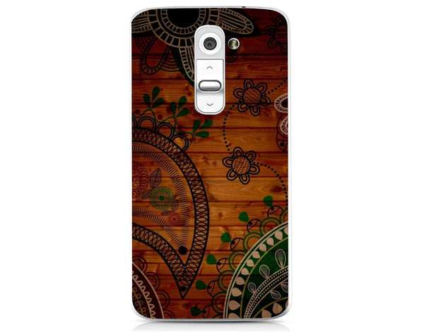 Husă Green Wooden Pattern LG G2 Mini Guardo.shop