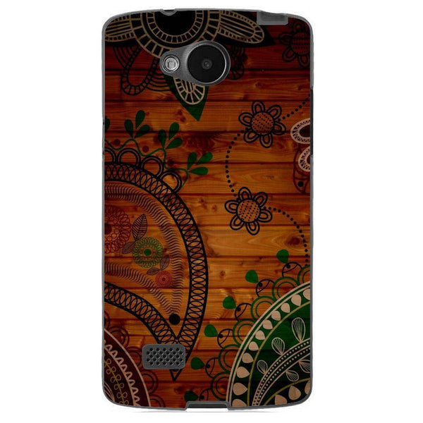 Husă Green Wooden Pattern LG Joy Guardo.shop
