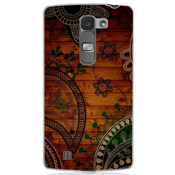 Husă Green Wooden Pattern LG Magna Guardo.shop