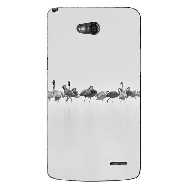 Husă Grey Flamingos Art LG L90 Guardo.shop