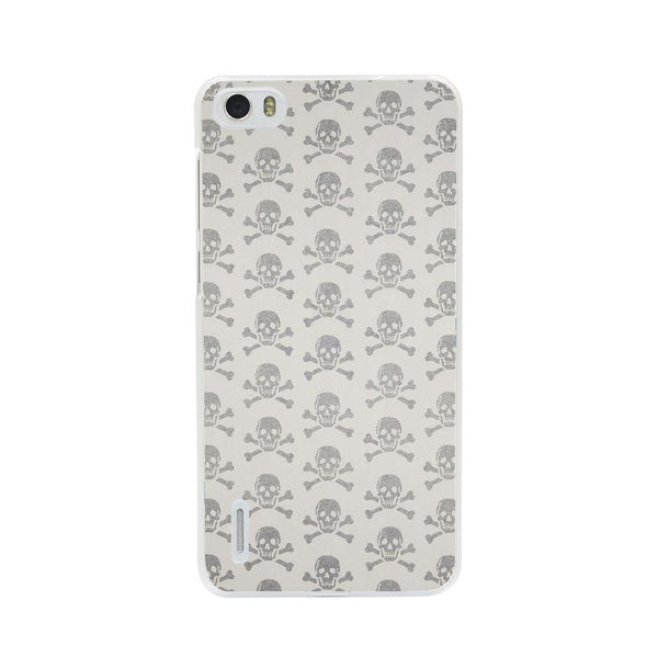 Husă Grey Skulls HUAWEI G7 Guardo.shop