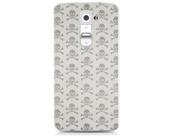 Husă Grey Skulls LG G2 Mini Guardo.shop