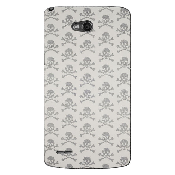 Husă Grey Skulls LG L80 Guardo.shop
