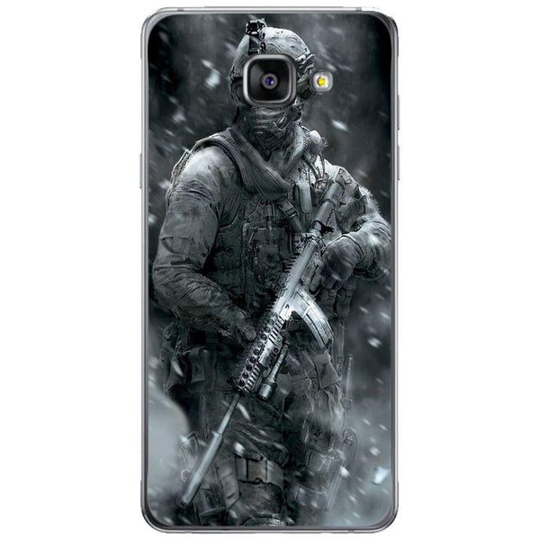 Husă Grey Soldier SAMSUNG Galaxy A5 2016 Guardo.shop