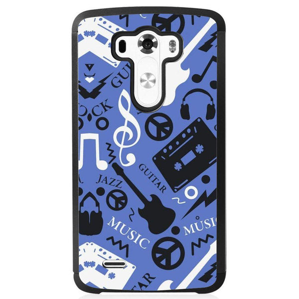 Husă Guitar Background LG G3 S Guardo.shop