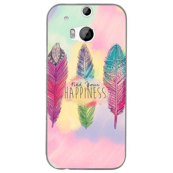 Husă Happiness Wings Background HTC One M8 Guardo.shop