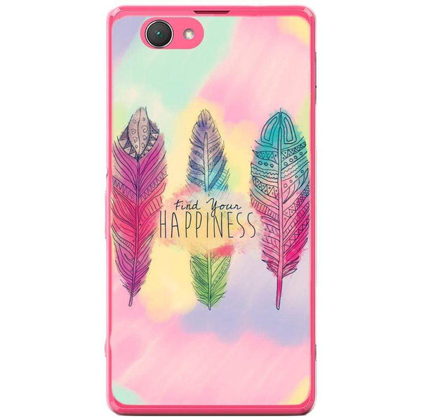 Husă Happiness Wings Background Sony Xperia Z1 Compact D5503 Guardo.shop
