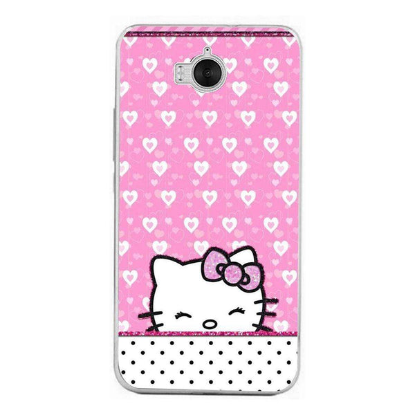 Husă Hello Kitty-love HUAWEI Y6 2017 Guardo.shop