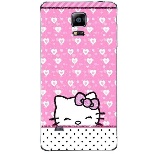 Husă Hello Kitty-love SAMSUNG Galaxy Note 4 Guardo.shop