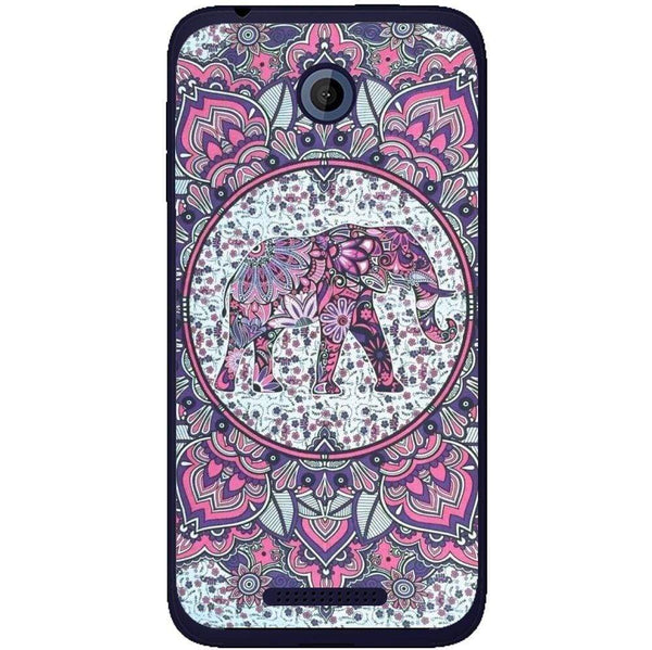 Husă Hispter Good Vibes Elephant Abstract HTC Desire 510 Guardo.shop