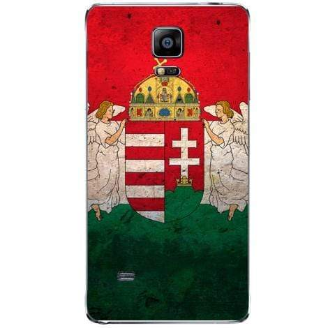 Husa Hungary flag Samsung Galaxy Note 4 Guardo.shop
