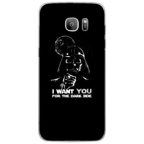 Husa I want you for the dak side Samsung Galaxy S7 Edge Guardo.shop