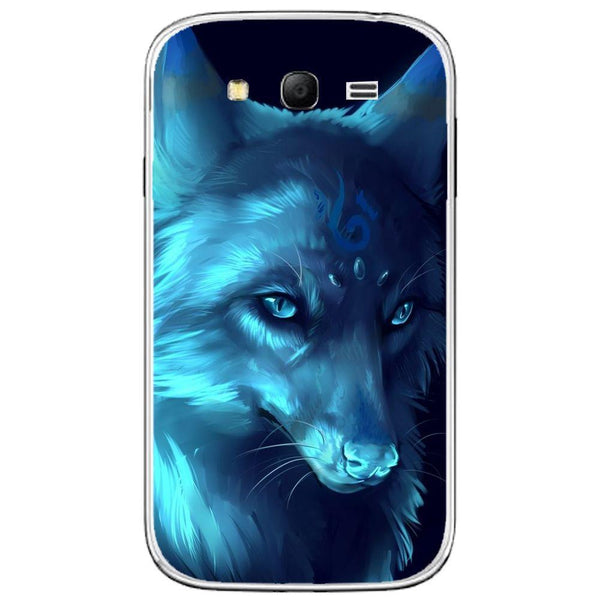 Husă Ice Wolf Anime Fantasy SAMSUNG Galaxy Grand